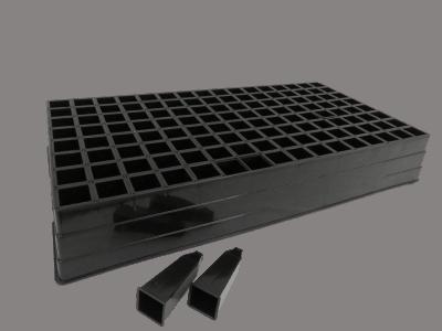 plastic seedtrays, unigro 128 unit